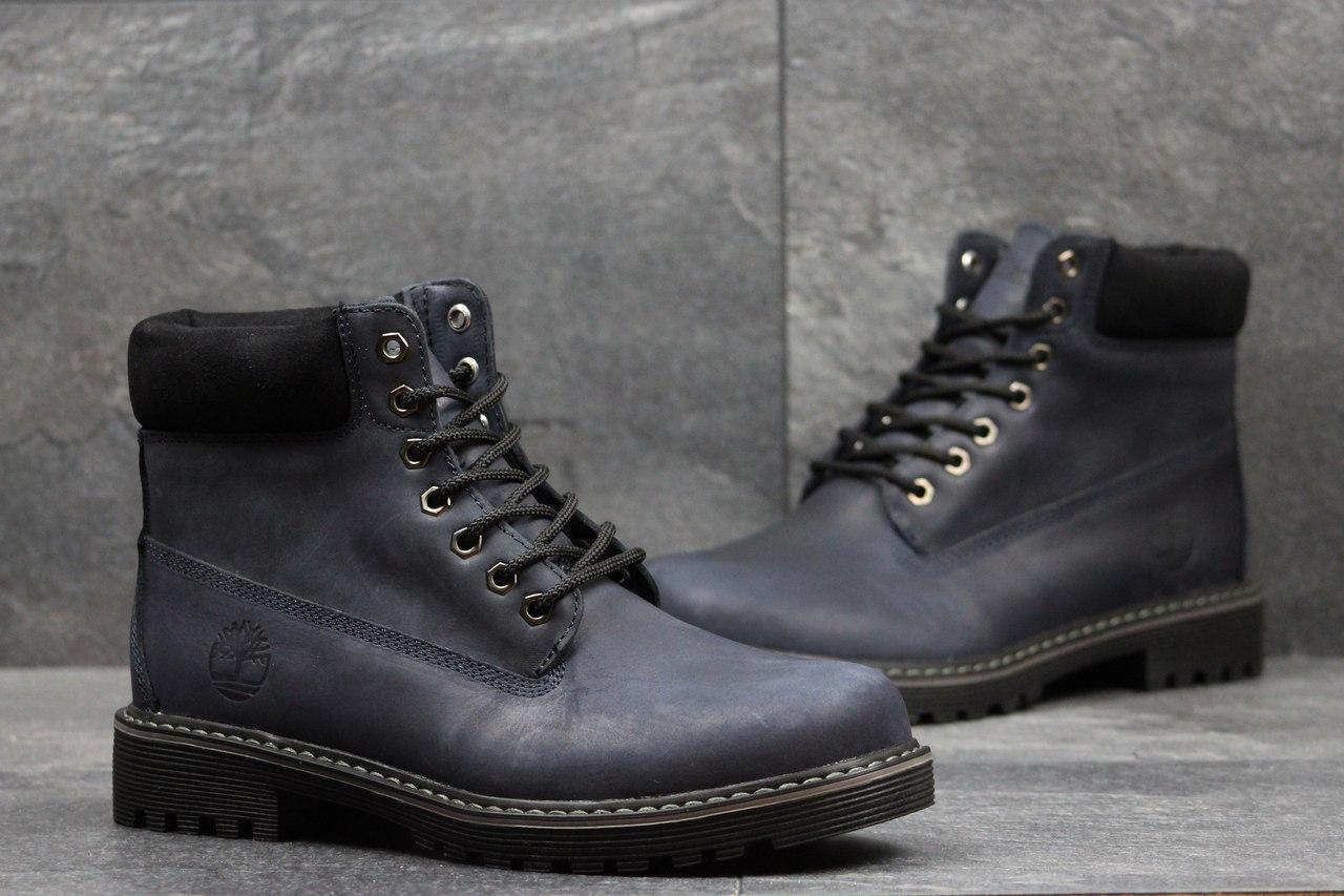 9640edfe4615 Я в шоке!™   Мужские зимние ботинки Timberland темно синие 3641 ...