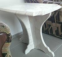 Стол из натурального мрамора на мраморных ножках, фото 1