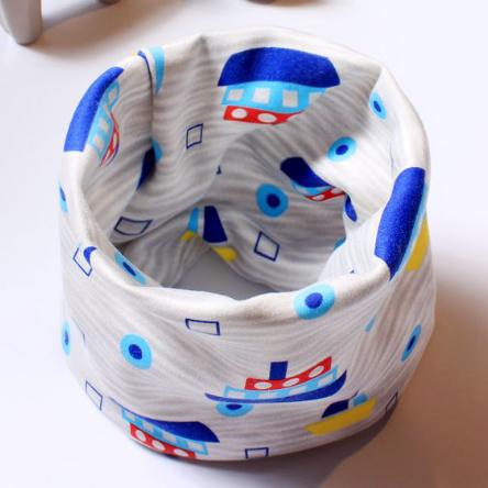 Детский флисовый шарф-хомут (08338)