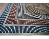 """Входной коврик грязезащитный """"Полоска Два цвета"""" 40х60 см. Цвета на выбор"""