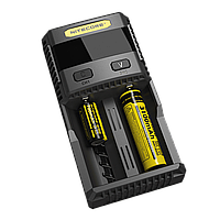 Универсальная зарядка Nitecore SC2 Superb Charger