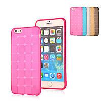 Apple iPhone 4G/4S Силикон Magic Cube розовый арт 12910