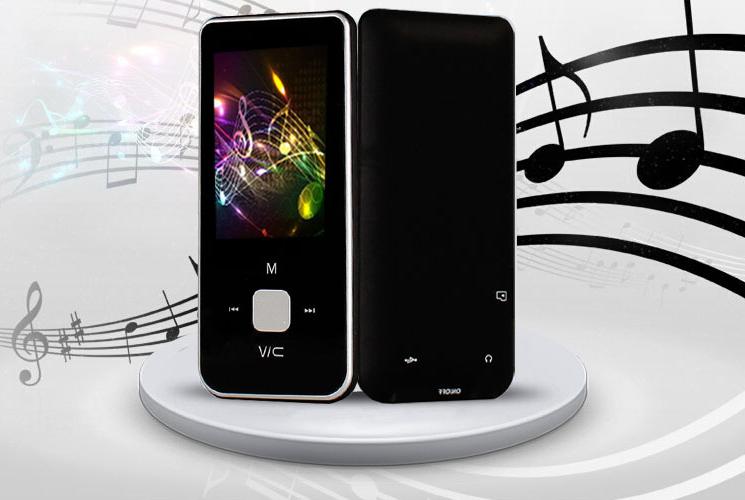 MP4-плеер ONN ARMOS  Q9 на 8Gb черный Поддержка fm Радио
