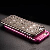 Apple iPhone 4G/4S Силикон Magic Cube коричневый арт 12912