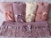 Красивый набор полотенец для кухни