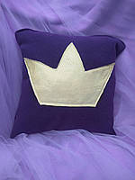 "Подарочная подушка ""Корона"" флок"