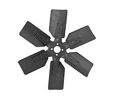 Вентилятор (крестовина с лопастями) в сборе Урал-375 б/у
