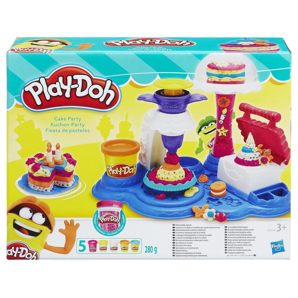 """Игровой набор """"Сладкая вечеринка"""" Play-Doh (B3399)"""