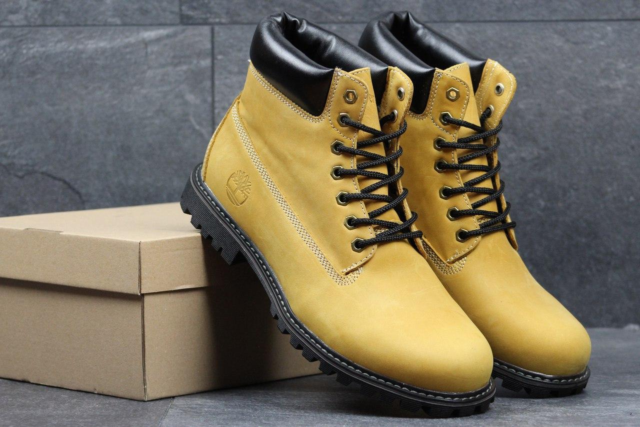 ce25102d8529 Я в шоке!™   Мужские зимние ботинки Timberland рыжие 3643. Цена ...