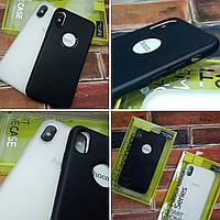 Чехол накладка Hoco iPhone 7 / 8 накладка бампер Fascination series Tpu Черный