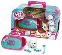 Игровой набор переноска со щенком Pet Parade Carry Kit, фото 1