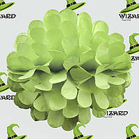 Бумажный шар цветок 20см (салатовый 0013)