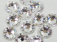 Камни(стразы)аналог Сваровски(серебро)№2 500шт