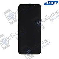 Дисплей Samsung S8 Plus (модуль экран + тачскрин) G955 Gold