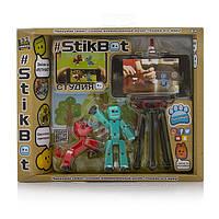Игровой набор для анимационного творчества STIKBOT S2 -Студия с питомцем ,в ассорт.