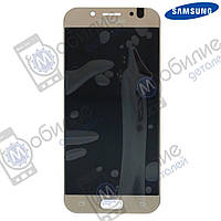 Дисплей Samsung J5 2017 (модуль экран + тачскрин) J530 Gold