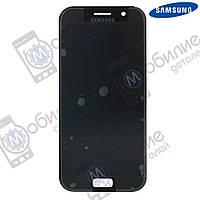 Дисплей Samsung A5 2017 (модуль экран + тачскрин) A520 Black, GH97-19733A