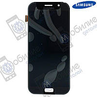 Дисплей Samsung A7 2017 (модуль экран + тачскрин) A720 Black, GH97-19723A