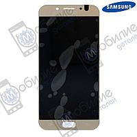 Дисплей Samsung J7 2017 (модуль экран + тачскрин) J730 Gold