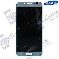 Дисплей Samsung J5 2017 (модуль экран + тачскрин) J530 Silver