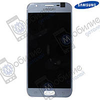 Дисплей Samsung J3 2017 (модуль экран + тачскрин) J330 Silver