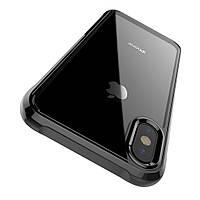 Панель на заднюю крышку HOCO Fascination series TPU для iPhone X (Матовый прозрачный)