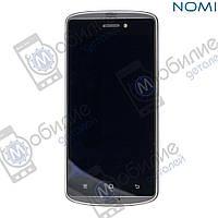 Дисплей (модуль экран + тачскрин) Nomi i5070 Iron-X Black