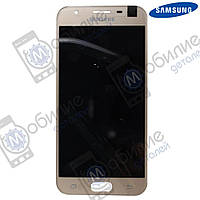 Дисплей Samsung J3 2017 (модуль экран + тачскрин) J330 Gold