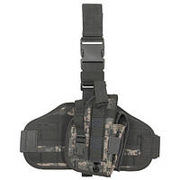Кобура набедренная цифровой (пиксельный) камуфляж MFH 30708Q