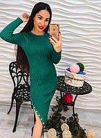 Женское длинное платье с пуговицами DB-4819(а)