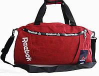 Спортивная сумка Reebok. Дорожная сумка. Сумки Найк. Сумка в спортзал. Стильная спортивная сумка., фото 1
