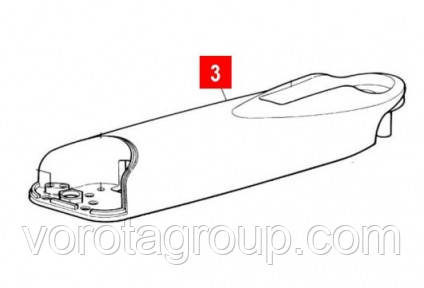Корпус WINGO 230V задний верхний (BMGWPAR02.45673)