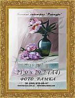 Фоторамка пластиковая, рамка формата , фото 1