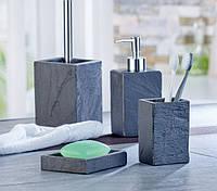 """Набор аксессуаров для ванной """"Granada"""", натуральный камень"""