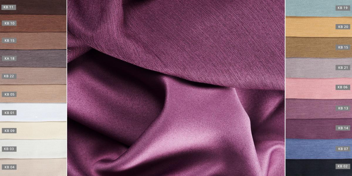 Портьерная ткань блекаут LINEN