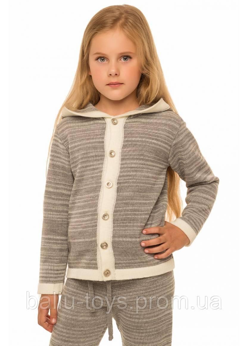 вязаный костюм для девочки паркер 3 8 лет продажа цена в