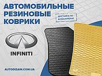 Резиновые коврики в салон INFINITI QX60 13 (Инфинити Кью Икс 60) (design 2016)
