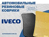 Резиновые автоковры на IVECO Daily IV 06- (design 2016)