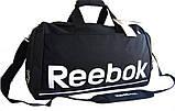Спортивная сумка Reebok. Дорожная сумка. Сумки Найк. Сумка в спортзал. Спортивная сумка с отделом для обуви., фото 2