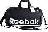 Спортивная сумка Reebok. Дорожная сумка. Сумки Найк. Сумка в спортзал. Спортивная сумка с отделом для обуви., фото 4