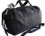 Спортивная сумка Reebok. Дорожная сумка. Сумки Найк. Сумка в спортзал. Спортивная сумка с отделом для обуви., фото 7