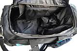 Спортивная сумка Reebok. Дорожная сумка. Сумки Найк. Сумка в спортзал. Спортивная сумка с отделом для обуви., фото 8