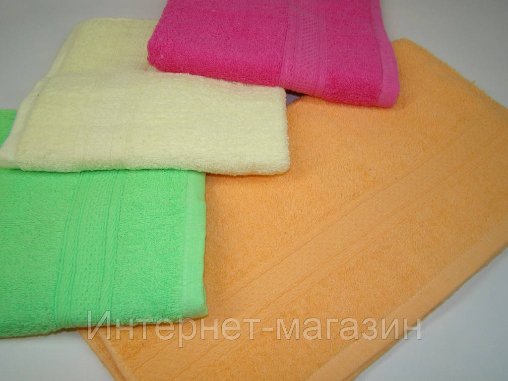 Лицевое полотенце махровое (45х90 см) код 0105