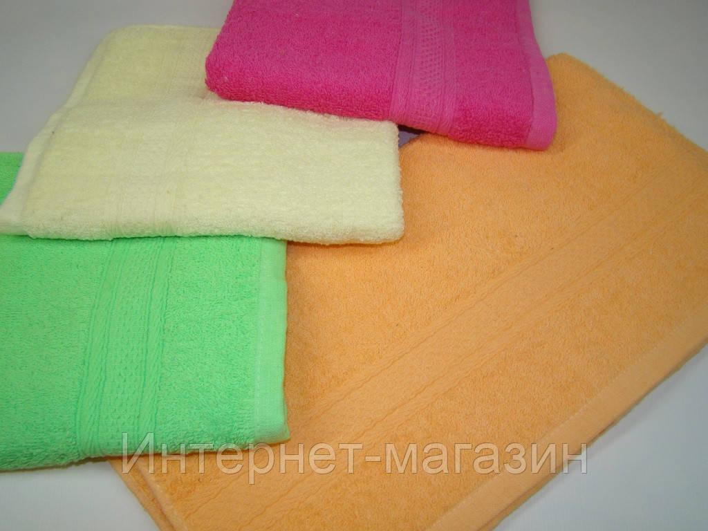 Лицевое полотенце махровое (45х90 см) код 0105, фото 1