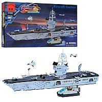 Конструктор BRICK 208886 Военный Корабль, Лего Морская серия большой корабль 113