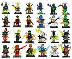 """Набір героїв Senco """"Ninja"""" на планшеті SY1150"""