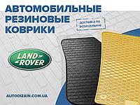 Резиновые коврики в салон LAND ROVER FREELANDER II 06- 12- (Ленд Ровер Фрилендер 2) (special design 2017)