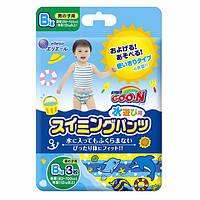 Трусики-подгузники для плавания Goo.N для мальчиков от 12 кг, ростом 80-100 см (размер Big (XL), 3 шт)