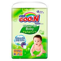Трусики-подгузники CHEERFUL BABY для детей 7-12 кг (размер M, унисекс, 58 шт)