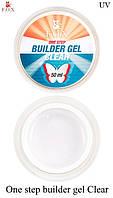 "Моделирующий 3-фазный гель F.O.X  ""Clear"" Builder gel UV"